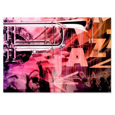 Kunstkaart Jazz, groot formaat