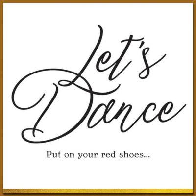 Kaart zwart wit, Let's Dance