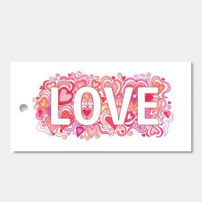 Verpakt per 3 | Woord in beeld - Love