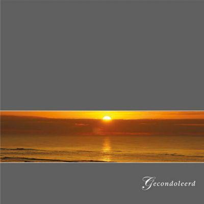 Condoleance kaart | Ondergaande zon