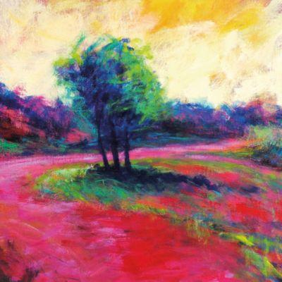 Kunst - Sunny road