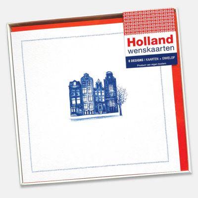 Doosje met 8 wenskaarten | Hollands Glorie