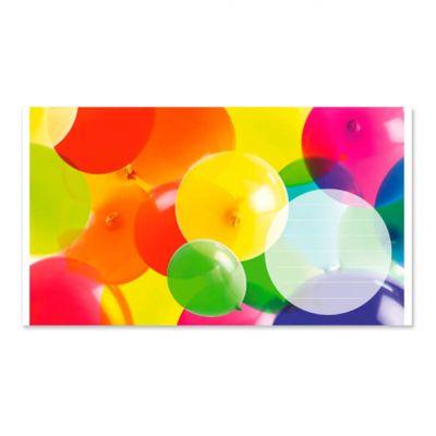 Geld-kado-envelop met ballonen