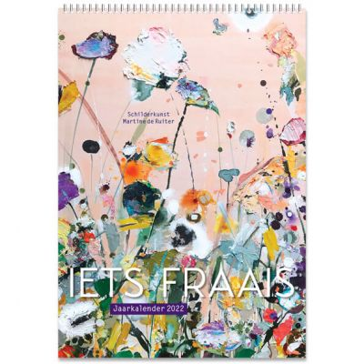 Jaarkalender 2022 kunst Iets Fraais Martine deRuiter