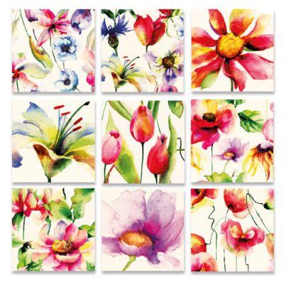 Bloemenkaarten, kunstkaarten, van Fiori