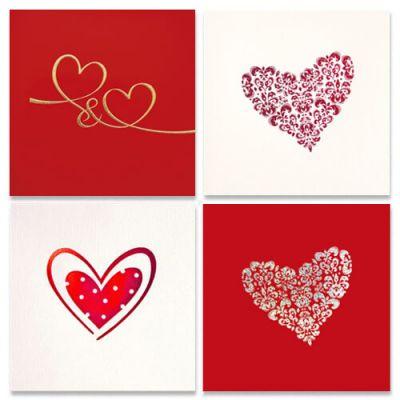 kaarten liefde, kaarten hart