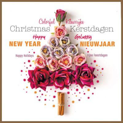 Alzheimer Nederland | Bloemen kerstboom