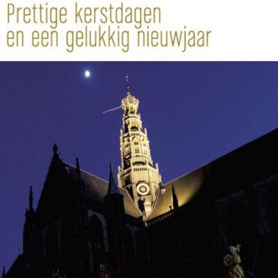 Toren van Grote of St. Bavokerk  Haarlem