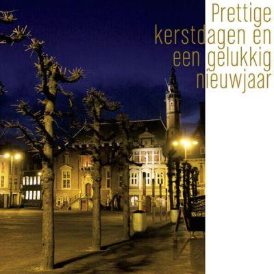 Haarlem |stadhuis uitgelicht