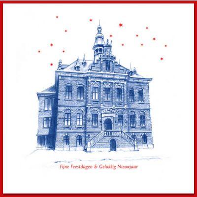 Kerkrade Delfstblauw-achtige stijl | stadhuis