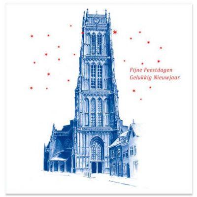 Zaltbommel Delfstblauw-achtig | Bommelse Toren