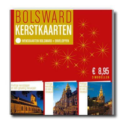 Kerstverpakking met 6 kerstkaarten van Bolsward