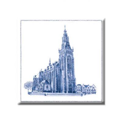 Magneet Schagen kerk