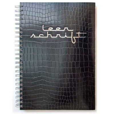 Notitieboek A5 - Leer