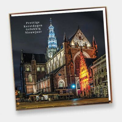 Set Haarlemse kerstkaarten (6 ex)
