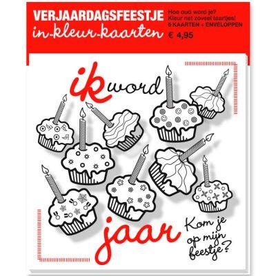 Uitnodigingen kinderpartijtje voor meisje, cupcakes maken