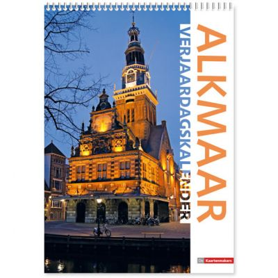Verjaardagskalender A4 Alkmaar, A4 formaat, full color