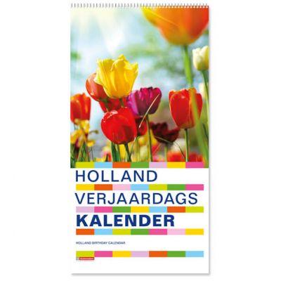 Verjaardagskalender Holland,  smal staand met wire-o