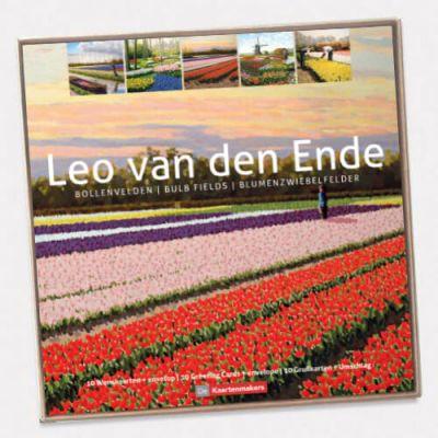Voordelige verpakking 10 kunstkaarten Leo van den Ende
