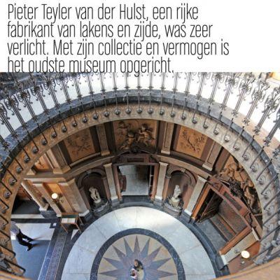 Wenskaart Haarlem | Teylers Museum