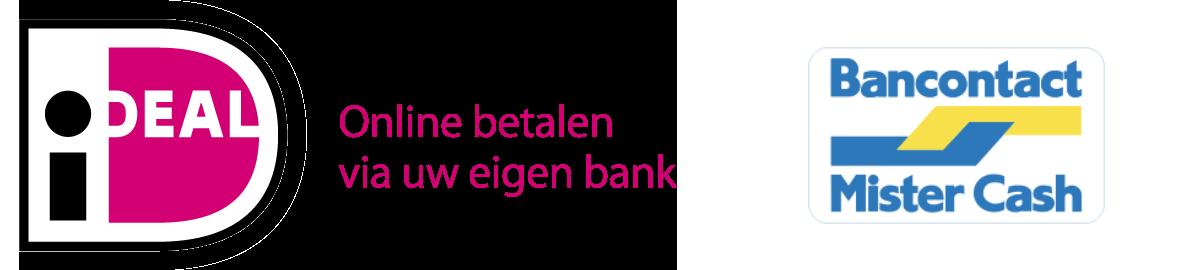 ideal logo en Bancontact